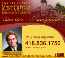 Réalisation | Les constructions Mont Château inc.