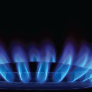 Foyer au gaz