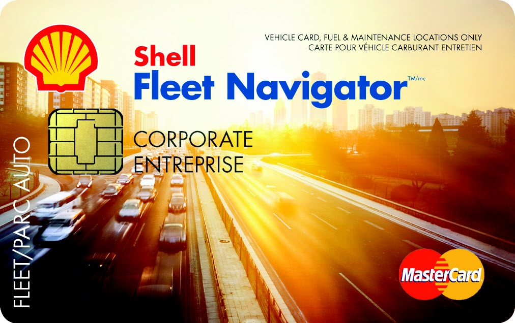 Carte Shell Fleet Navigator