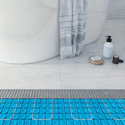 Planchers chauffants (électrique et/ou à l'eau)